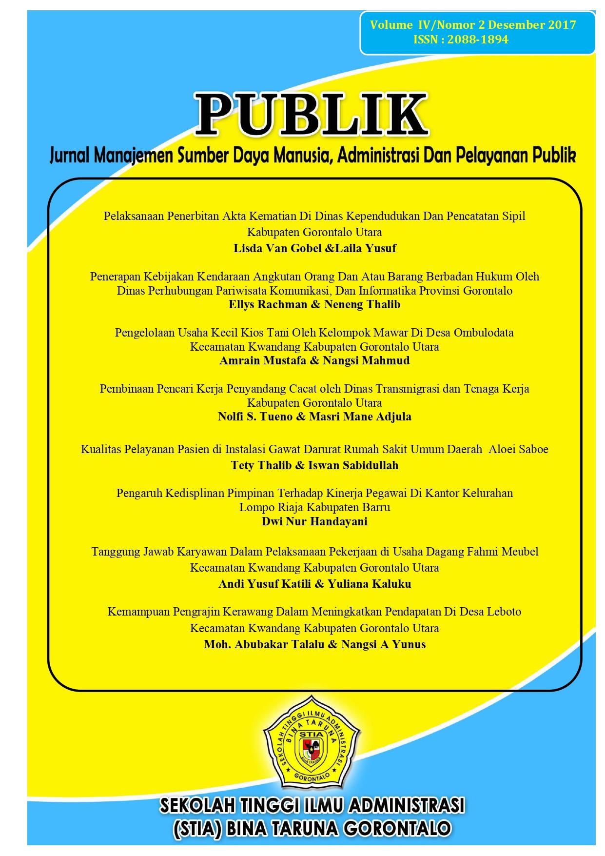 Jurnal Triase & Gawat Darurat - PMI Maluku Aktifkan ...